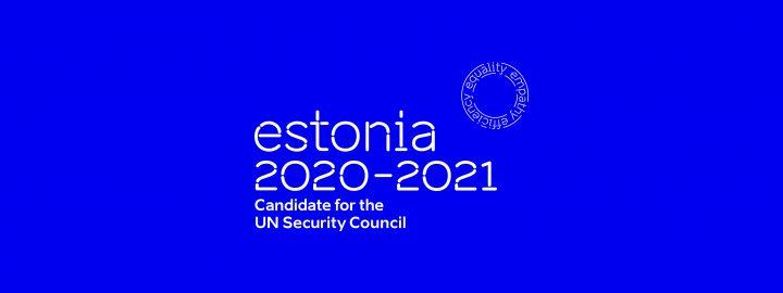 Eesti ÜRO julgeolekunõukogu liikmeks 2020-2021