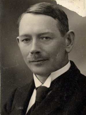 Eduard Virgo in 1920. Photograph: National Archives