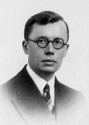 August Schmidt (Torma) in the 1930s. Photograph: Archives of the Ministry of Foreign Affairs