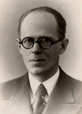 Johan Leppik. Photograph: National Archives