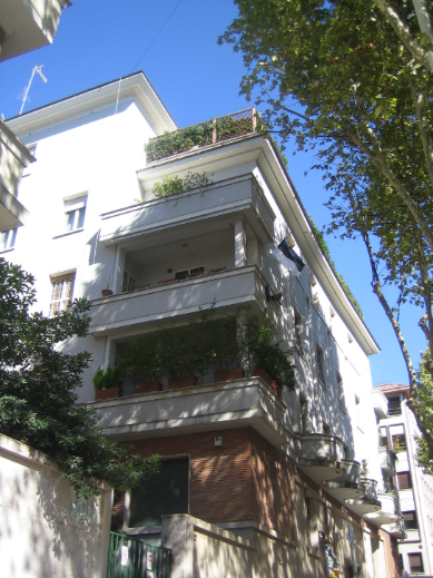 Embassy of Estonia in Rome at Viale Liegi 28. Photograph: Embassy of Estonia in Rome